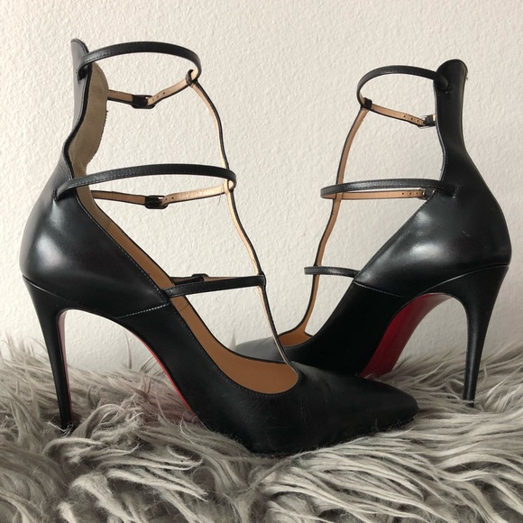2cbb8a4cfe9 Christian Louboutin Shoes - Christian Louboutin Toerless Muse strappy pumps  36